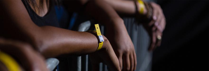 bracelets événementiels